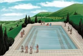 the siloam pool where jesus healed the blind man biblical