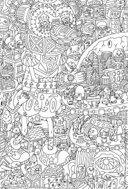 challenging coloring pages for adults itgod me