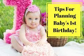 tips for planning baby s birthday