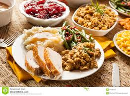 vegetarian thanksgiving meals homemade turkey thanksgiving dinner stock photography image
