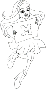 monster high spectra coloring pages getcoloringpages com