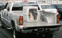 Truck Bed Dog Crate The Wet Nose Restrain Your Dog When Riding In The Car