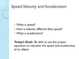 Speed Velocity And Acceleration Calculations Worksheet Answers Finish Activity 73 Follow Procedure Steps 3 7 Discuss In