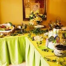 Table Buffet Decorations by Holiday Buffet Tables Rise To The Occasion Buffet Tables And