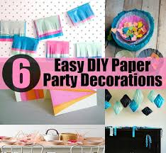6 easy diy paper decorations diycozyworld home