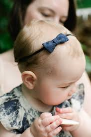 baby bow headbands navy abstract floral baby bow headband simple delicate small