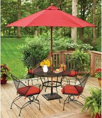 Wrought Iron Patio Dining Sets - better homes and gardens clayton court 5 piece wrought iron patio
