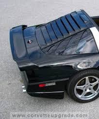 corvette wing c4 corvette 84 96 c4r rear wing corvette upgrade