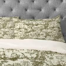 green toile bedding sets you u0027ll love wayfair