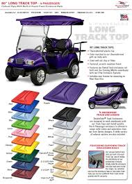 custom roofs or tops for golf carts