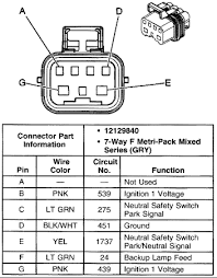 i need wiring schematics for the 7 way connector to the neutral
