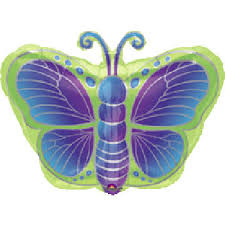 butterfly balloons butterfly balloon kiwi butterfly balloon in green blue and purple