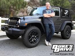 jeep willys wrangler duke s drive 2017 jeep wrangler willys wheeler review chris duke