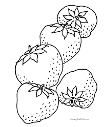 strawberry coloring pages print tags strawberry color