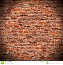 round circle spotlight on red brick wall radial gradient shadow