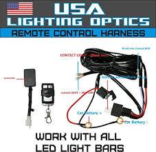 wireless led light with switch wireless remote control universal wiring harness off road atv utv