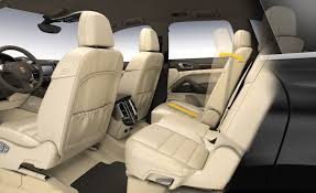 Porsche Cayenne Interior - 2011 porsche cayenne interior rear seats eurocar news