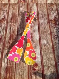 Cottage Kitchen Accessories - decoupage wooden spoons shabby chic cottage kitchen wooden