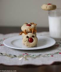 peanut butter reindeer cookies guest post on twin stripe chez
