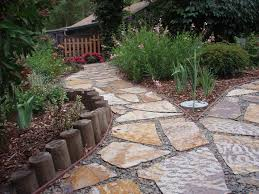 flagstone patio landscaping designs family newest landscape ideas