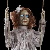 life size halloween haunted house props witch ghost phantom