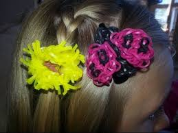 make loom band hair pins 194 best rainbow loom misc images on pinterest loom bands
