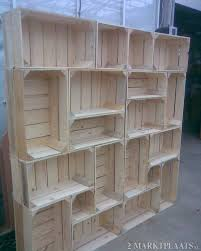love to read stacked painted crates make cute library like