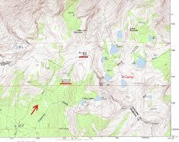 Map Of Yosemite Ten Lakes