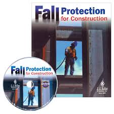 fall protection for construction training wallet cards