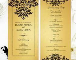 cheap ceremony programs cheap wedding program simple programs for wedding