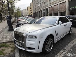 rolls royce white rolls royce mansory white ghost ewb limited 29 april 2017