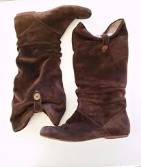 s slouch boots australia ugg australia highkoo 9 5 suede leather slouch boots brown