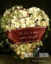 sprüche trauerschleife blattwerk floristik blumen und dekoration berlingerode