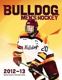 umd men u0027s hockey media guide 2012 13 by umd bulldogs issuu