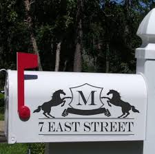 themed mailbox themed mailbox decals