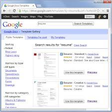 Google Docs Templates Resume Google Resume Samples 20 Awesome Resume Templates 2016 Get