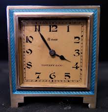 Colorado Travel Clock images Vintage tiffany co art deco desk travel clock jpg