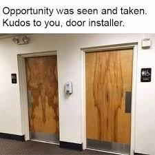 Door Meme - funny bathroom door meme my favorite daily things