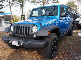 black and teal jeep 2016 jeep wrangler unlimited black bear manahawkin chrysler jeep