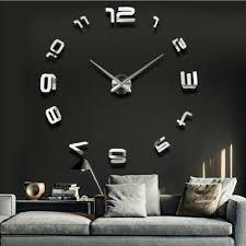 aliexpress com buy modern fashion large digital wall clock diy
