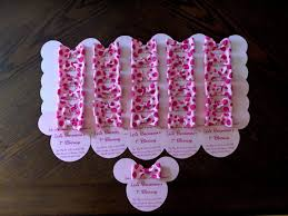 minnie mouse baby shower favors baby shower baby shower ideas baby invitations bridal shower party