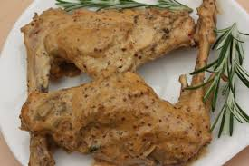 cuisiner du lapin facile recette de lapin à la moutarde par alain ducasse