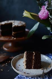 german chocolate cake vegan u2014 fare isle