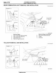 mitsubishi lancer drawing how do i replace taillights 2008 2009 lancer evolutionm