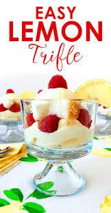 thanksgiving trifle recipes lemon trifle recipe easy whipped lemon raspberry dessert