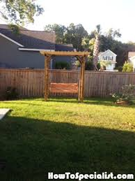 Swing Arbor Plans 80 Best Free Pergola Plans Images On Pinterest Pergola Plans