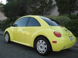 volkswagen beetle yellow 1999 volkswagen new beetle gls yellow manual transmission auto