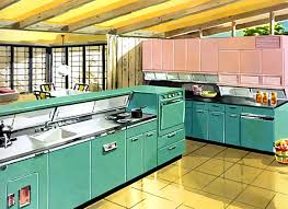 Geneva Metal Kitchen Cabinets Kitchen Cabinets - Retro metal kitchen cabinets
