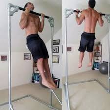 Diy Backyard Pull Up Bar by Build And Outside Pull Up Bar Train Dirty Pinterest Bar