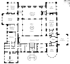 floor plans of famous mansions